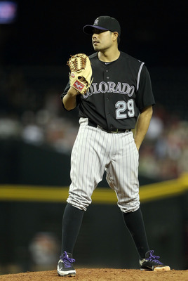 The rotation Jorge de la Rosa will return to in 2013 looks nothing like the one he was last a part of in 2011.