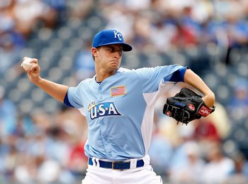 The Royals hope that Jake Odorizzi is a future ace in the making.