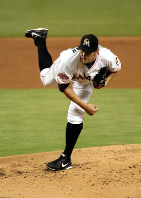 The Marlins will expect Josh Johnson to improve on his 2012 season.