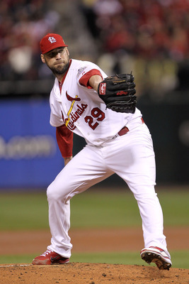 A healthy Chris Carpenter will be a welcome sight at the front end of the Cardinals' rotation in 2013.