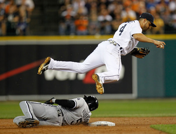 Omar Infante was traded from the Braves to the Marlins when the Braves acquired Dan Uggla.