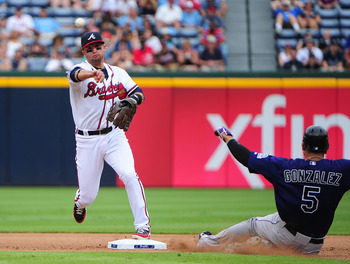 Martin Prado is the Braves super-utility player and would be a good fit at second base for the Braves.