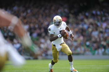 Everett Golson looked just fine, if not magnificent.