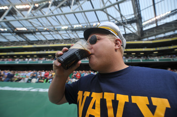 Navy is still drinking to forget.
