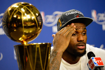 It's okay LeBron, don't panic.