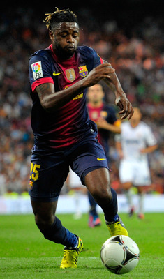 Alex Song has made a promising start with Barca.