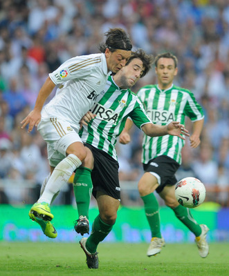 Betis managed to hold on to the influential Beñat.
