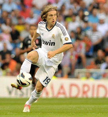 Luka Modric sealed a dream move to Los Blancos.