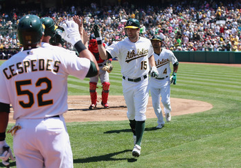 Smith has helped the A's power surge in 2012