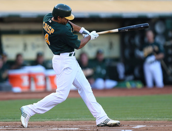 Crisp has been the A's second-half catalyst