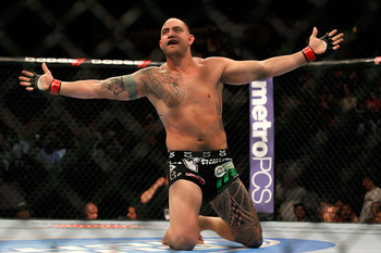 Travis Browne after submitting Chad Griggs