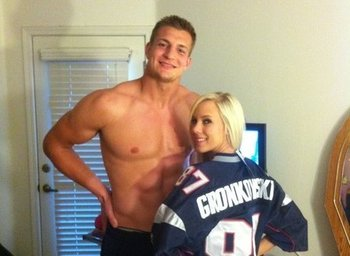 Gronkowski lived it up in the offseason. If you're into karma, he's due for a fall. (nflpassers.com)