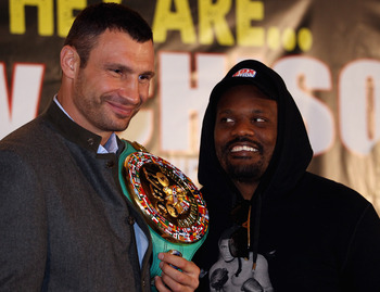 Vitali Klitschko has held the WBC belt since returning to the ring in 2008.
