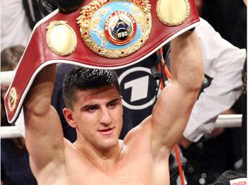 Huck won the WBO belt in 2009.