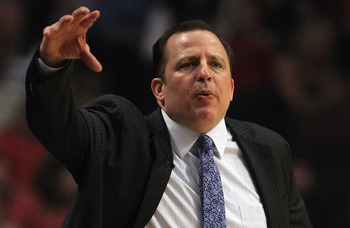 Chicago Bulls coach Tom Thibodeau