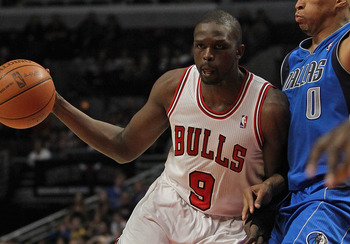 Luol Deng of the Chicago Bulls