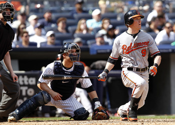 Nate McLouth and the Orioles Will Battle The Yankees All Month