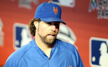 R.A. Dickey has been one of the top pitchers in baseball this year.