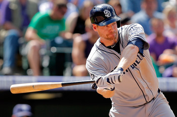 Chase Headley has been impressive this year, having 24 home runs and 92 RBI on the year.