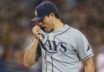 Matt Moore had high expectations coming into this year after his Game 1 performance in the ALDS last year.