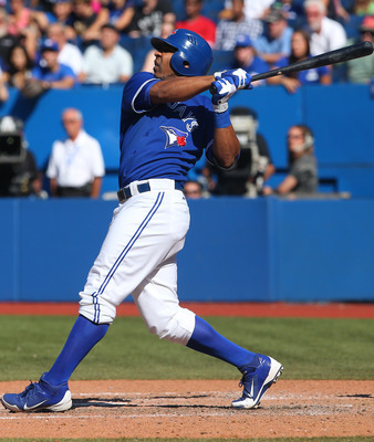 That's right...Edwin Encarnacion just blasted another home run.