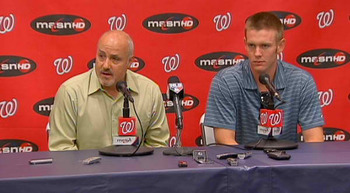 The Nationals decision to shut down Stephen Strasburgh, right, after his Sept. 12 start is a travesty to all fantasy owners that own the phenom and are competing for a title.