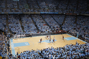 photo appears on goheels.com