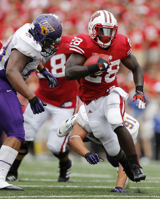 Montee Ball and the Wisconsin Badgers barely held on to beat Northern Iowa in their season opener.