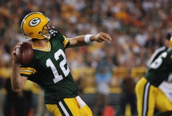 As Aaron Rodgers goes, so go the Packers. Raymond T. Rivard photograph