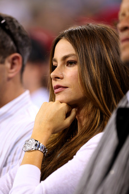 The Voluptuous Sofia Vergara taking in the U.S. Open