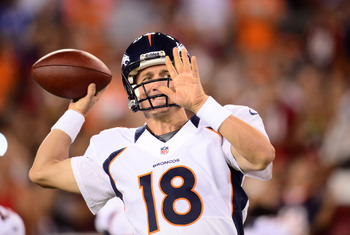 High five! Peyton Manning is a top-five quarterback in 2012.