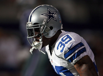 Dallas Cowboys cornerback Brandon Carr.