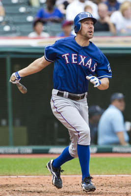 Texas Rangers outfielder David Murphy is finishing 2012 on an absolute tear. Remember him in 2013.