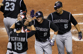 There's no better way to see how Troy Tulowitzki rebounds from his groin injury than to actually watch him play.