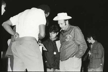 Maryland Coach Lefty Driesell at the first-ever Midnight Madness event in 1971. (pouyad.com)