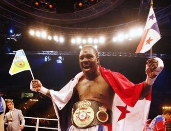 Guillermo Jones won the WBA cruiserweight title in 2008.