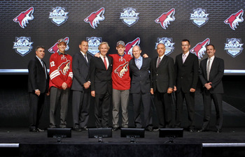 The Phoenix Coyotes are still in Glendale.
