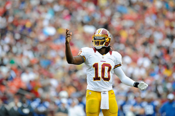 Robert Griffin III: Another promising rookie making his first start.