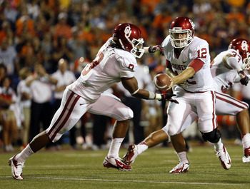 Dominique Whaley and Landry Jones