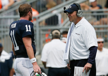 Matt McGloin and Bill O'Brien