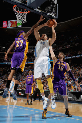 JaVale McGee's performance and energy level took off once he was traded from Washington to Denver last season.