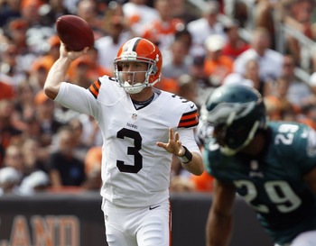 Not sure where this Brandon Weeden pass is headed