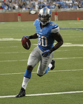 Kevin Smith scored two touchdowns in the win over the Rams.