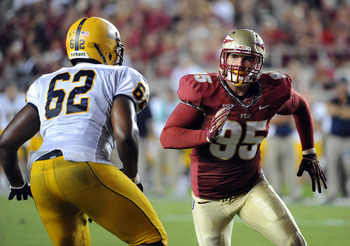 Bjoern Werner is now the leader of the Florida State defense.