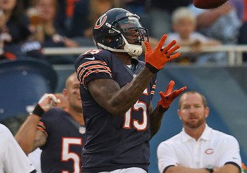 Bears receiver Brandon Marshall