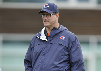 Bears Offensive Coordinator Mike Tice