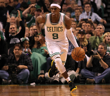Rajon Rondo would love to get out on the fast break more this coming season.
