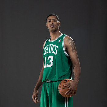 Rookie big man Fab Melo is just one big man option off the bench for Doc Rivers this coming season.