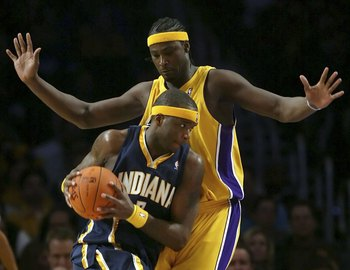 Kwame Brown - a major disappointment and highly overrated.