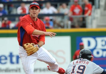 The spring training unis are cool, but Utley is probably past that now.